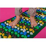 Массажный (ортопедический) коврик дорожка для детей с камнями Onhillsport 100*40см (MS-1215), фото 2
