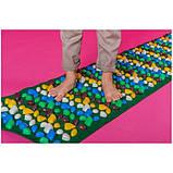 Массажный (ортопедический) коврик дорожка для детей с камнями Onhillsport 100*40см (MS-1215), фото 3