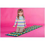 Массажный (ортопедический) коврик дорожка для детей с камнями Onhillsport 100*40см (MS-1215), фото 5