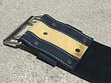 Пояс (ремень) кожаный для пауэрлифтинга 125 см OSPORT (MS 1507), фото 3