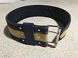 Пояс (ремень) кожаный для пауэрлифтинга 125 см OSPORT (MS 1507), фото 4