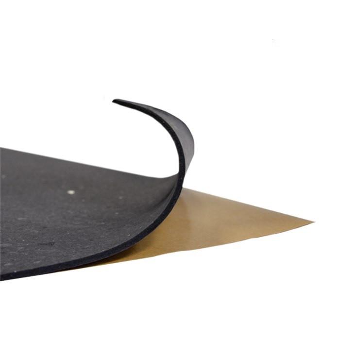 Шумоізоляція із спіненого пінополіуретану з липким шаром 1000х500х8мм SoundProOFF (Faton Black 8)