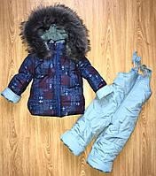 Комбинезон зимний на мальчика 1-4 года, фото 1