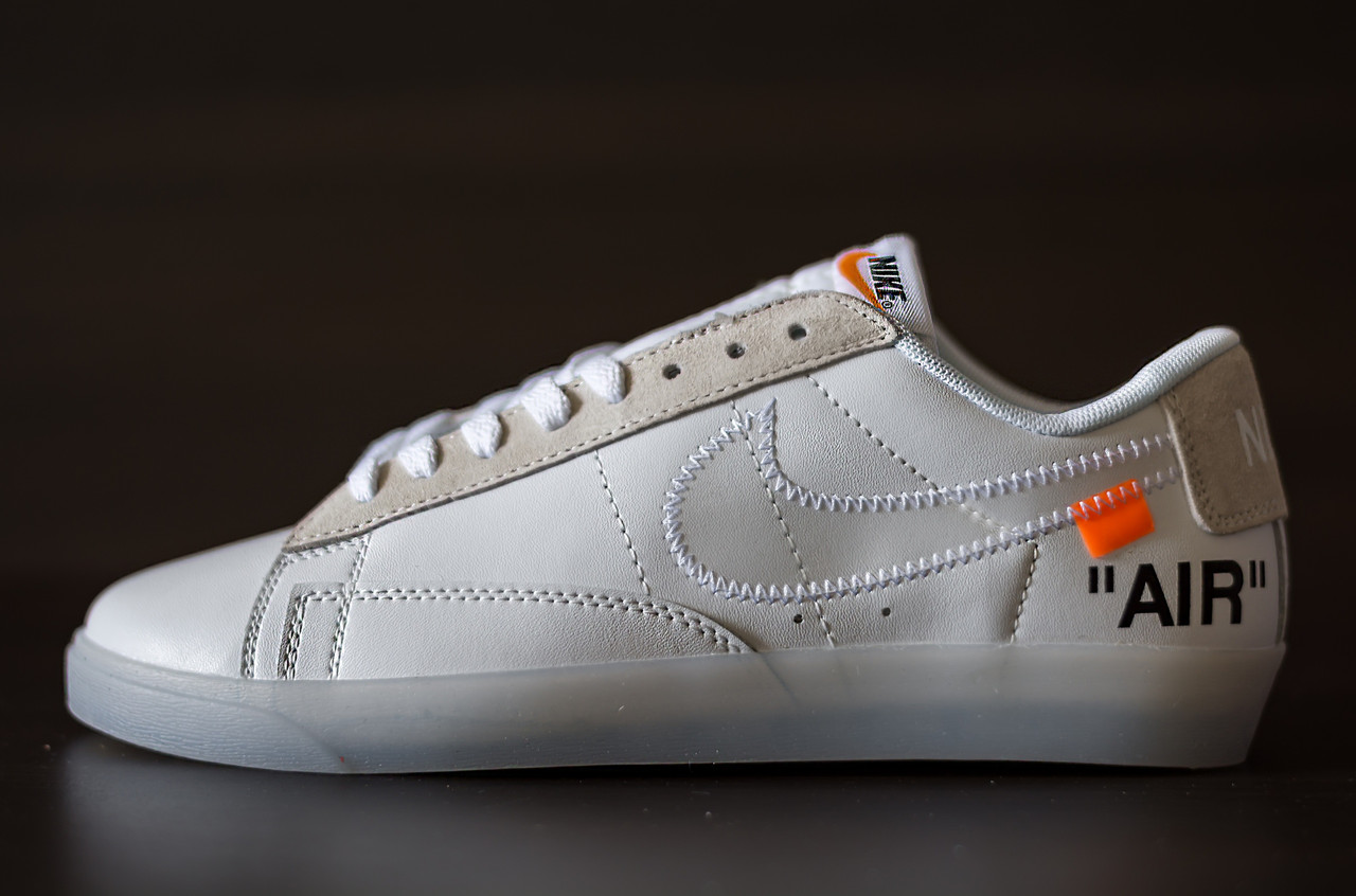 cheap for discount 79ea9 4923a Кеды Nike Blazer Low Off-White