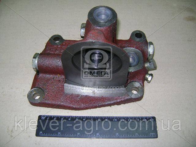 Корпус фильтра масляного (ФМ-009) (трактор.) (установ. фильтра сверху) (пр-во БЗА)