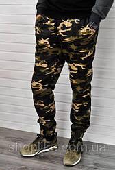 Мужские джинсовые джоггеры камуфляж