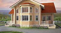 Дом из профилированного клееного бруса 10х13 м, фото 1
