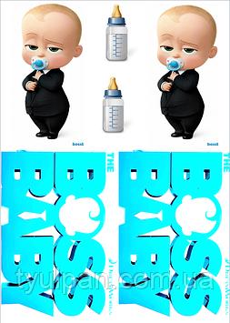 Вафельные картинки босс молокосос