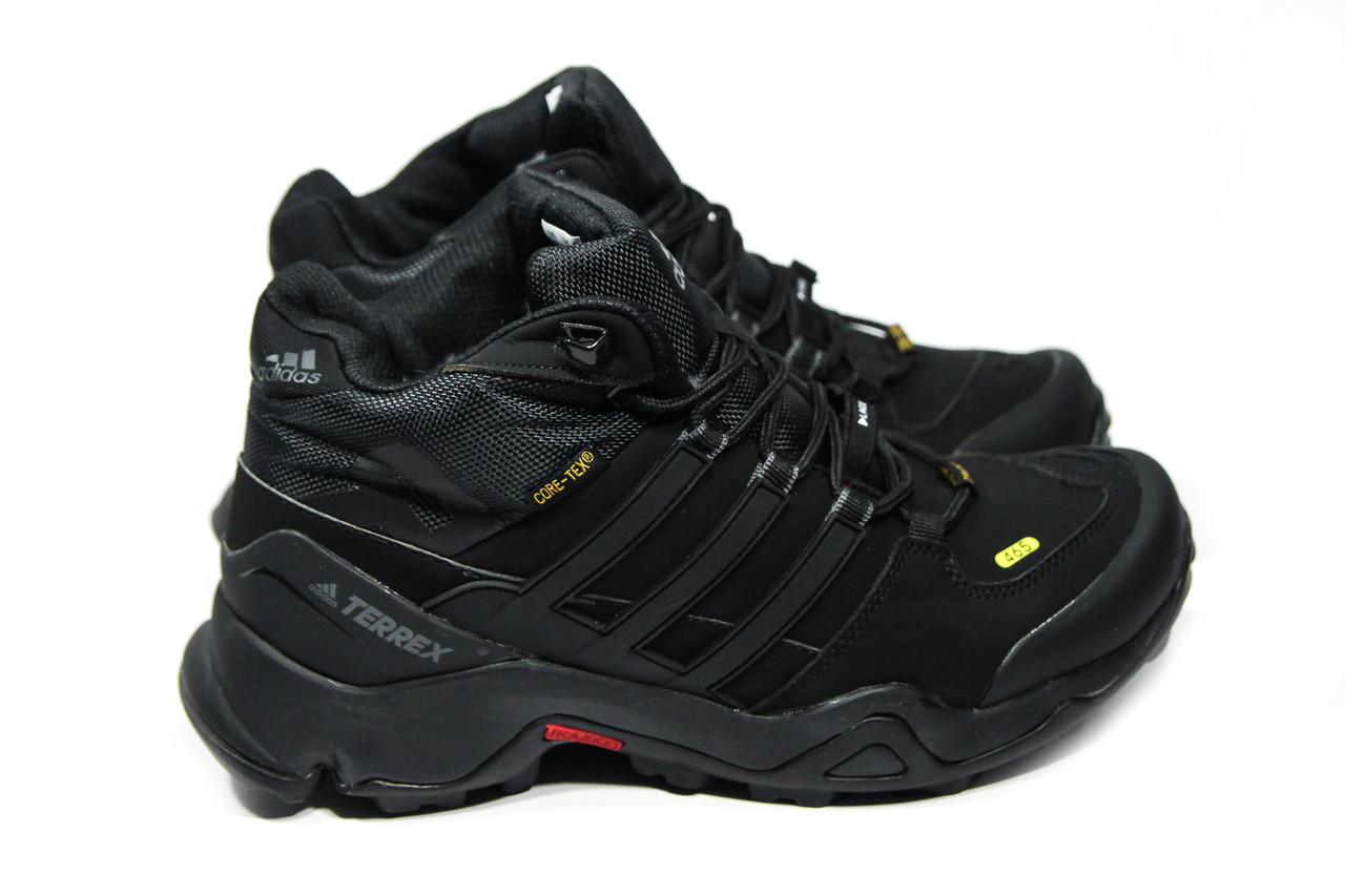 7e597d84 Зимние ботинки (на меху) мужские Adidas TERREX (реплика) 3-088 ...