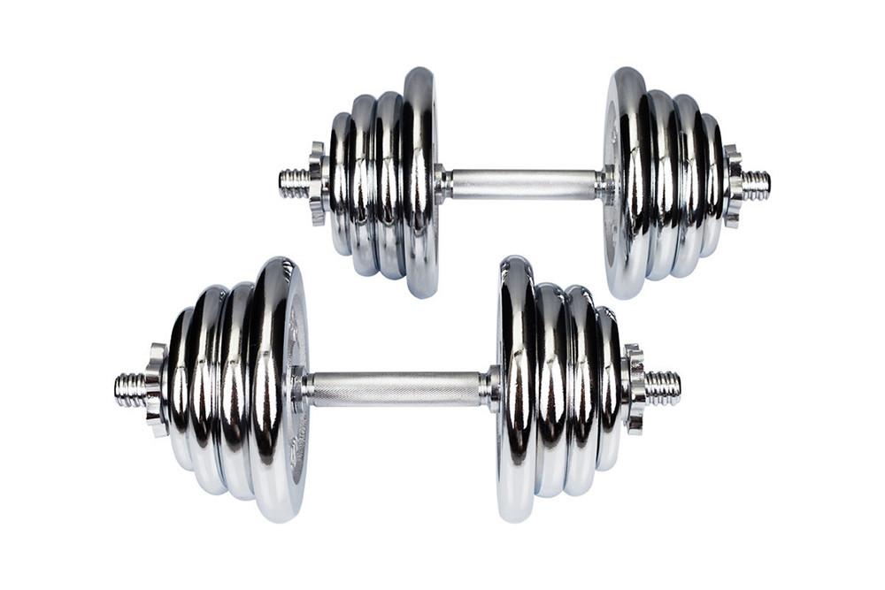 Гантелі хромовані Hop-Sport 2х20 кг (HS-G4)