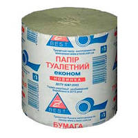 Бумага туалетная макулатурная Zbest (Украина) с НДС