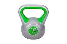 Гиря Hop-Sport вініл 16 кг (HS-G18)
