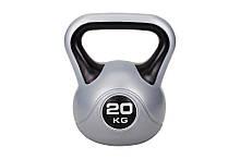 Гиря Hop-Sport вініл 20 кг (HS-G19)