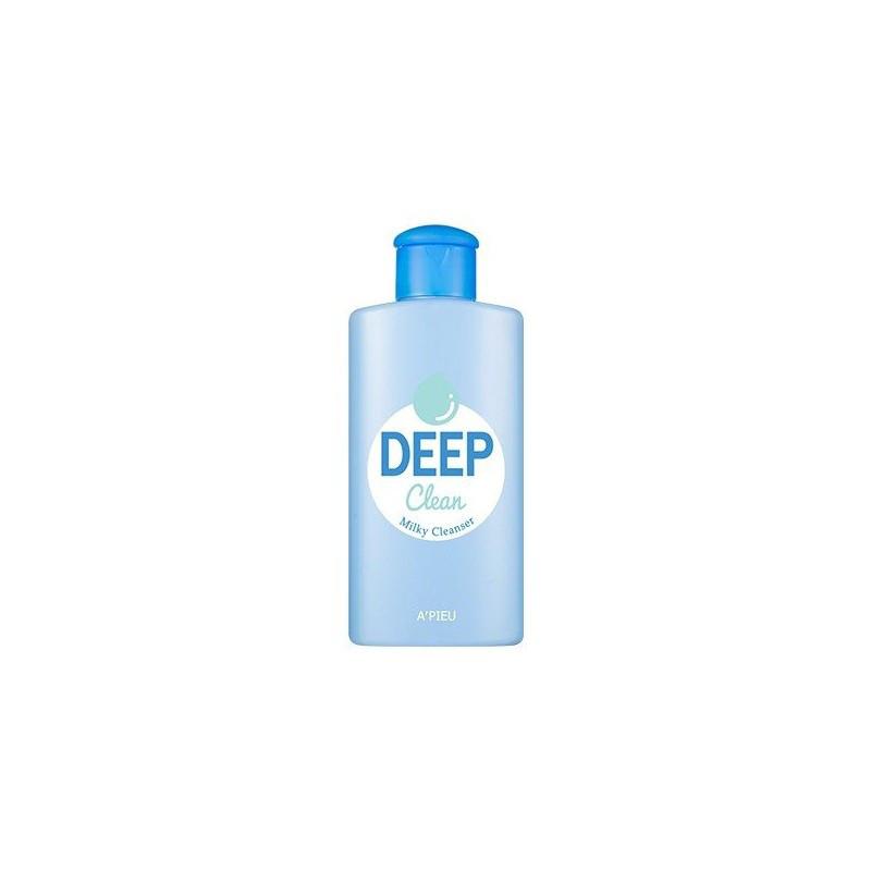 Очищающий лосьон-молочко A'PIEU DEEP CLEAN MILKY CLEANSER, 160мл.