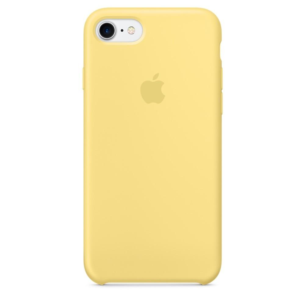 """Накладка iPhone 7/8 """"Original Case"""" Yellow"""