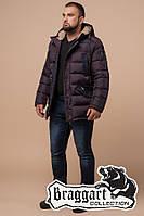 Куртка Зимняя Braggart  26402К темно-бордовый, фото 1