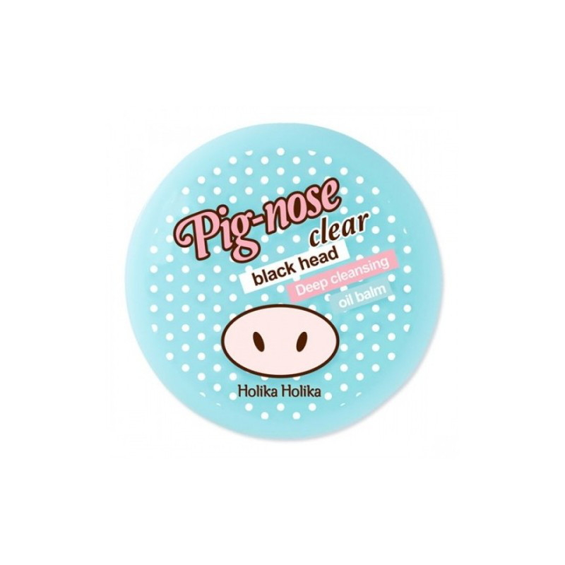 HOLIKA HOLIKA PIG-NOSE CLEAR BLACK HEAD DEEP CLEANSING OIL BALM Бальзам от черных точек