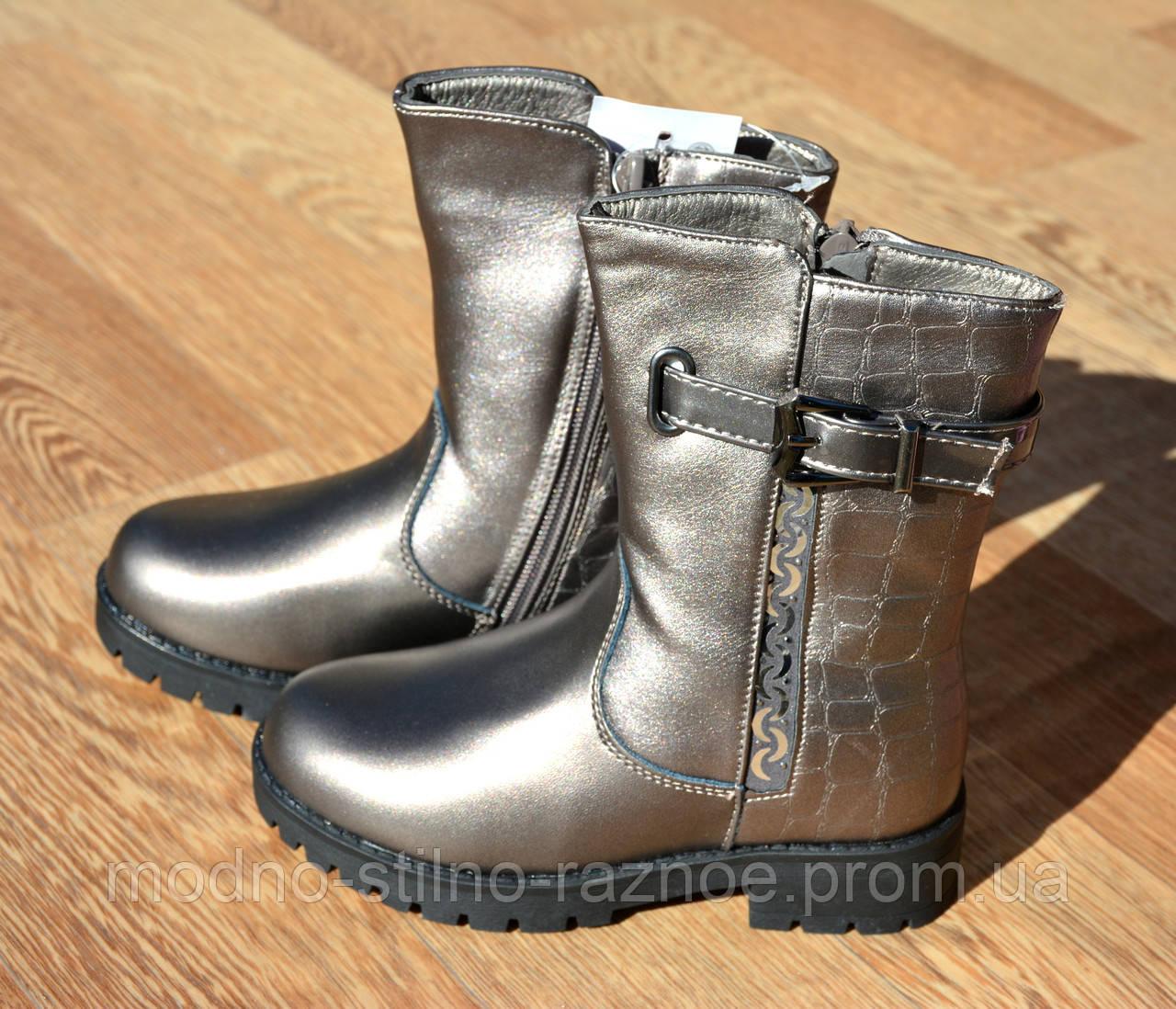 Сапоги ботинки зимние для девочки 27-31