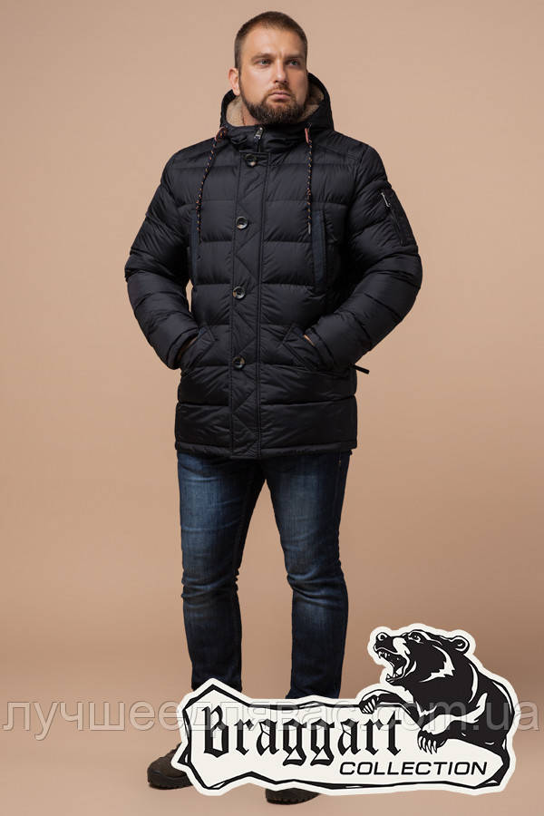 Куртка Зимняя Braggart  26402L черный, фото 1