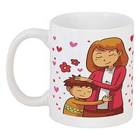 Подарочная чашка для мамы или бабушки.