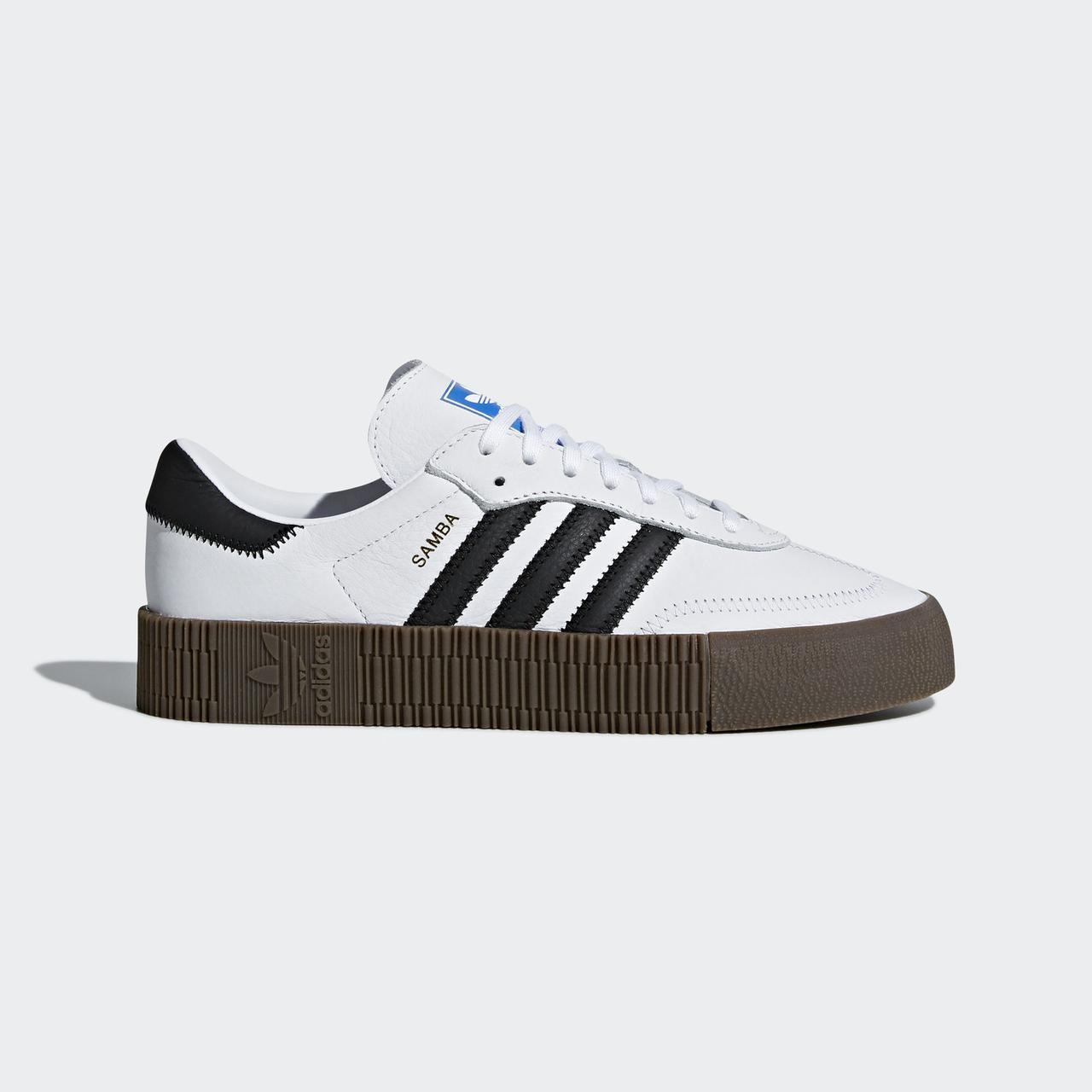 """Кроссовки Adidas Sambarose """"Белые"""""""