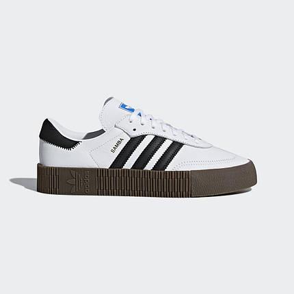 """Кроссовки Adidas Sambarose """"Белые"""", фото 2"""