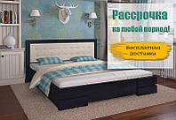 Кровать деревянная Регина из натурального дерева