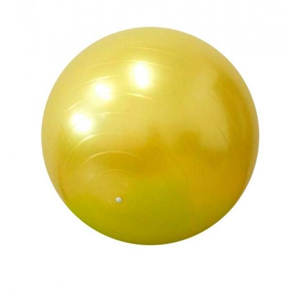 Детский мяч для фитнеса (фитбол) 85 см (глянец, в пакете) Profi (MS 0384) Желтый