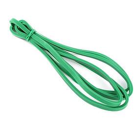 Еспандер гумовий спортивний (гумка для фітнесу, підтягування, турніка) 208х1.3см Profi (MS 1844) Зелений