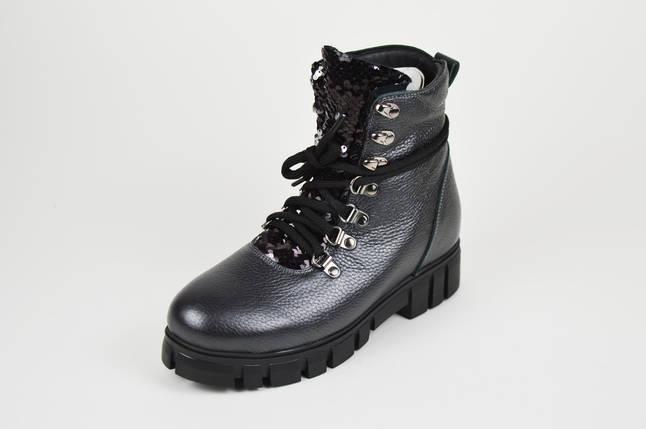 Ботинки с пайетки DaCoTa 2110, фото 2