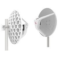 Комплект точек доступа Mikrotik Wireless Wire Dish (RBLHGG-60adkit) (60GHz, 1xGE, PoE In 1Gb до 1500м)