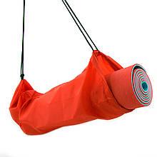 Чехол для коврика и каремата для туризма и фитнеса OSPORT 16 см (FI-0030-1) Красный