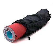Чехол для коврика и каремата для туризма и фитнеса OSPORT 23 см (FI-0030) Черный
