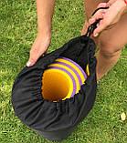 Чохол для килимка і каремат для туризму і фітнесу OSPORT 23 см (FI-0030) Чорний, фото 2