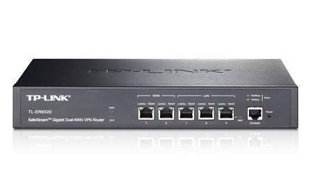 Маршрутизатор TP-Link TL-ER6020 VPN (2x1Gbit WAN, 2x1Gbit LAN, 1Gbit LAN/DMZ, 1 конс. порт)