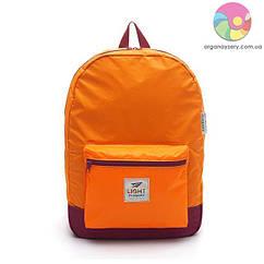 Рюкзак портативний (помаранчевий)