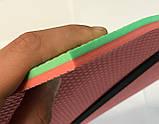 Туристическая сидушка (пенопопа) OSPORT Profi 8мм (TY-0006) Красно-зеленый, фото 3