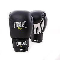 Перчатки боксерские для бокса PVC ЮНИОР (MA-0033) 12 унций Черный