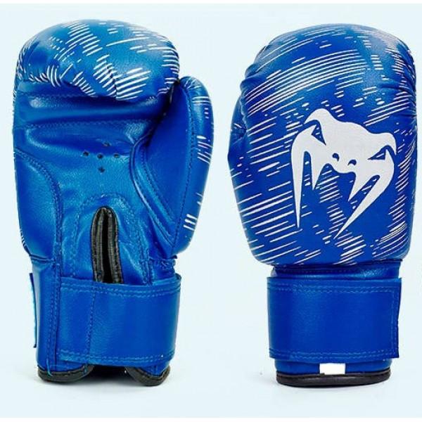 Перчатки боксерские детские VENUM (MA-5432) 4 унции Синий