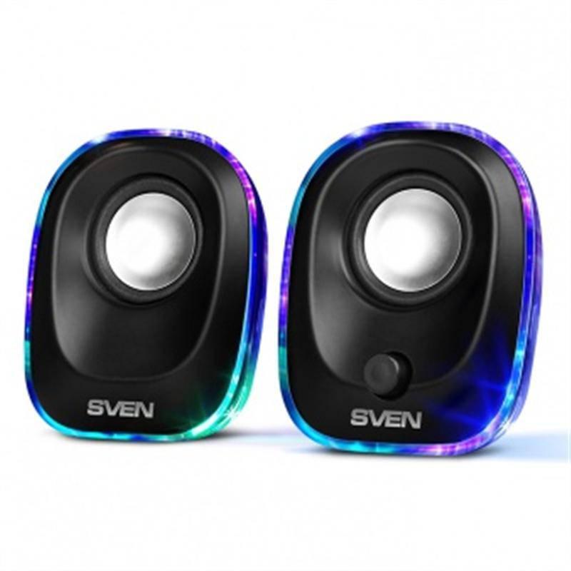 Акустическая система Sven 330 Black UAH
