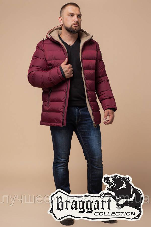 Куртка Зимняя Braggart 25285D бордо, фото 1