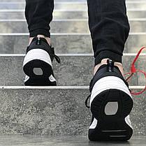 "Кроссовки Nike M2K Tekno ""Black/White"" (Черные/Белые), фото 3"
