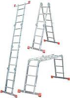 Шарнирная лестница Krause MultiMatic 4x4