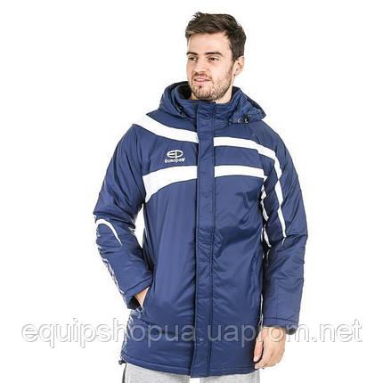 Куртка Зимняя (удлиненная) Europaw TeamLine темно-синяя, фото 2