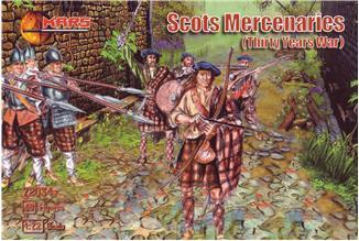 SCOTS MERCENARIES, THIRTY YEARS WAR. 1/72 MARS 72034
