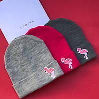 """Стильная женская шапка """" Фламинго """" Yulia, фото 1"""