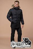 Куртка Зимняя Braggart 24712А черный, фото 1