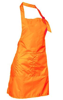 Фартук мастера, неоново-оранжевый, фото 2