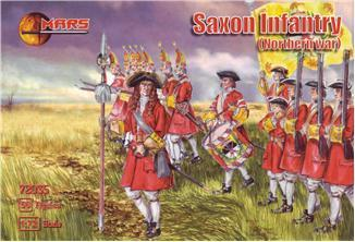 SAXON INFANTRY, NORTHERN WAR. 1/72 MARS 72035
