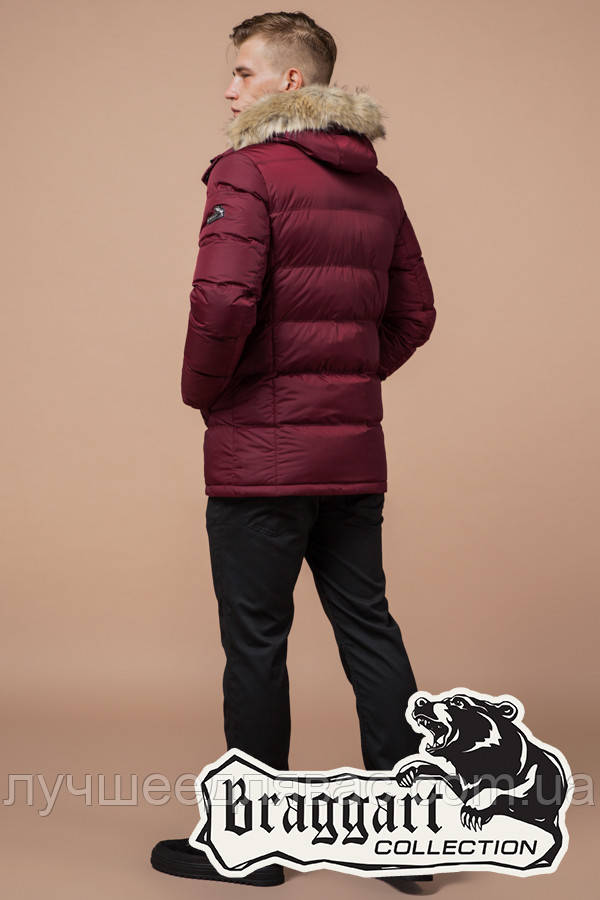 Куртка Зимняя Braggart 24712Е бордовый, фото 1